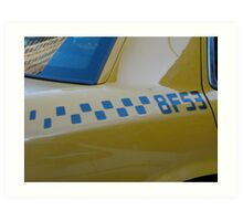 Taxi . . . Art Print