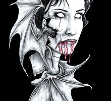 Portrait of a Vampire by Anthony McCracken