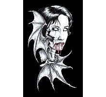 Portrait of a Vampire Photographic Print