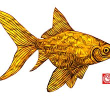 Golden Fish. by mongogushi