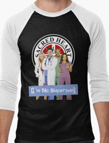 I'm no Superman - Scrubs Men's Baseball ¾ T-Shirt