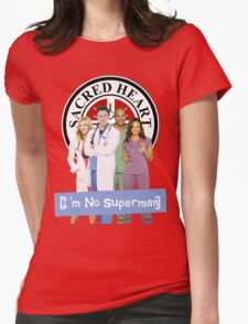 I'm no Superman - Scrubs Womens Fitted T-Shirt