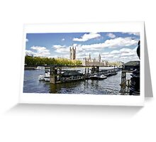 Westminster 05 Greeting Card