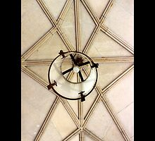 Coe Hall Historic House Museum Vintage Wrought Iron Ceiling Lantern - Upper Brookville, New York by © Sophie W. Smith