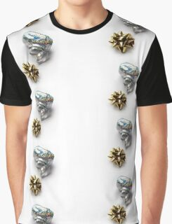 Gift Wrap Shiny Bow and Ribbon Graphic T-Shirt