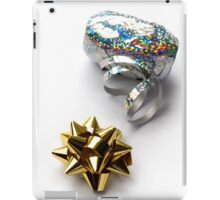 Gift Wrap Shiny Bow and Ribbon iPad Case/Skin