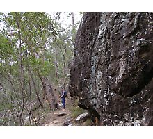 Following the Path! Cania Gorge, South East Queensland. Photographic Print