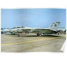 Grumman F-14A Tomcat 161422/200 Poster