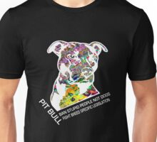 Pitbull BSL White Unisex T-Shirt