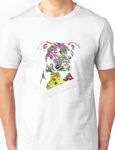 Pitbull BSL White Unisex T-Shirt