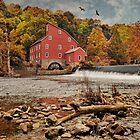 Red Mill Autumn 2009 by Pat Abbott