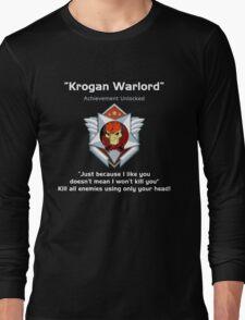 ME3 - Krogan Warlord Long Sleeve T-Shirt