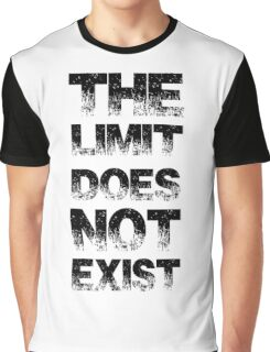 The Limit Does Not Exist Graphic T-Shirt