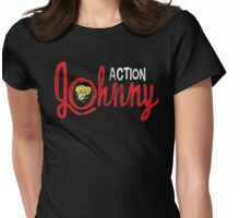 Action Johnny Logo Womens Fitted T-Shirt