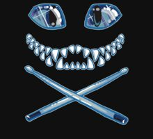 Cheshire Cat Grin and Drumsticks by Mary C