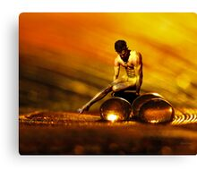 Glass and Bronze Canvas Print