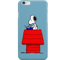Typewriter Snoopy iPhone Case/Skin