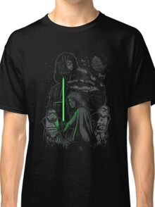 Skywalking Dead on Black Classic T-Shirt