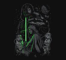 Skywalking Dead on Black T-Shirt