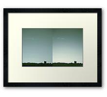 Denver Silhouette Framed Print