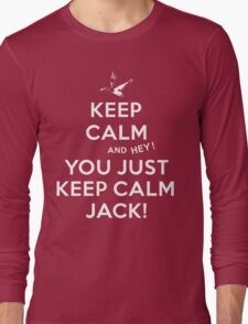 Keep Calm Jack! Long Sleeve T-Shirt