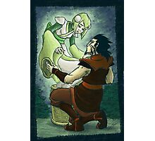 Legend of Green Lantern-Love Reunited Photographic Print