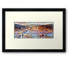 Peace in Every Language - 3 meters wide Framed Print