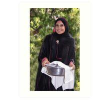 American Muslim Beauty Art Print