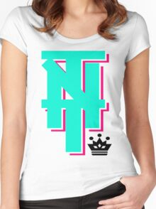 TNT Ignited the Major League  Women's Fitted Scoop T-Shirt