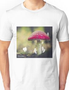 Under the red mushroom - Wandering forest 1 Unisex T-Shirt