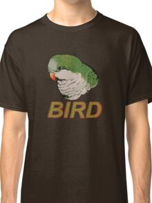 BIRD - Quaker Parrot (Green) Classic T-Shirt