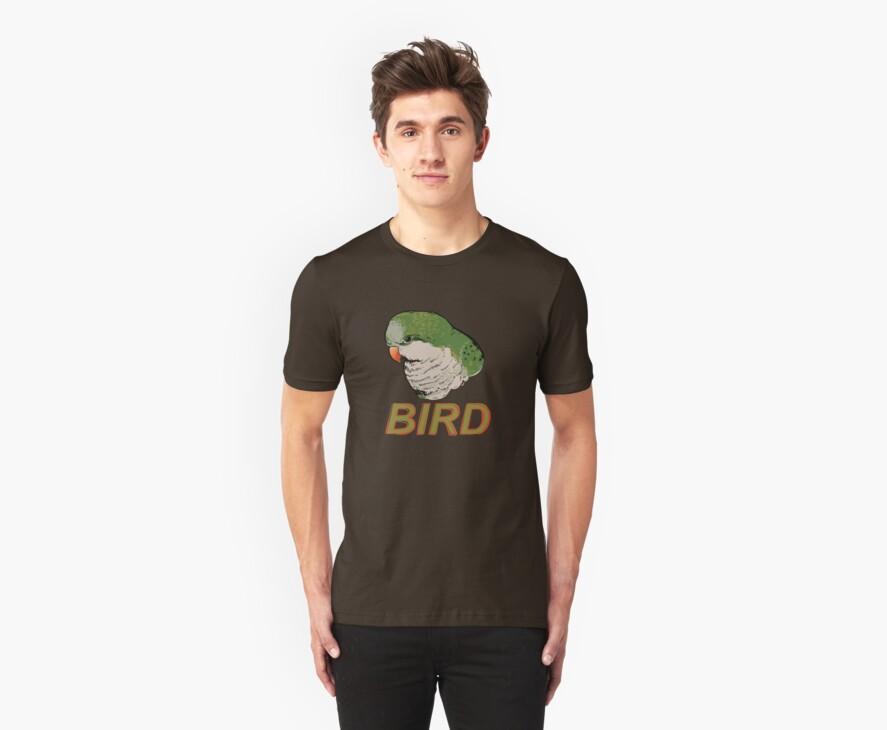 BIRD - Quaker Parrot (Green) by Ari Hunt