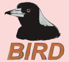 BIRD - Australian Magpie One Piece - Long Sleeve