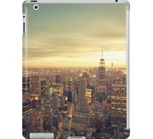 New York City - Skyline Cityscape iPad Case/Skin