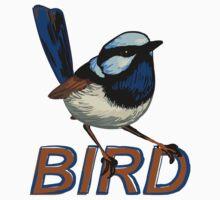 BIRD - Fairy Wren (Male) by Ari Hunt