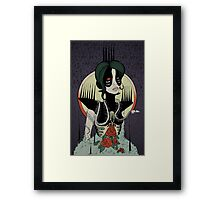 Crowned and Hollow Framed Print