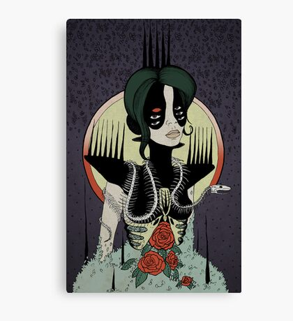 Crowned and Hollow Canvas Print