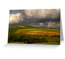 Val d'Orcia (Tuscany) Greeting Card