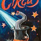 Circus Funny Illusion Poster by kirilart