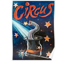 Circus Funny Illusion Poster Poster