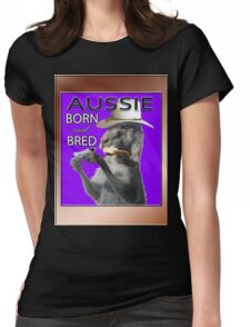 AUSSIE BORN & BRED Womens Fitted T-Shirt