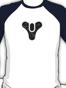 Destiny Logo Worn (Black) T-Shirt