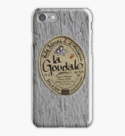LA GOUDALE. iPhone Case/Skin
