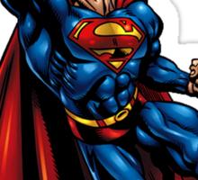 flying superman Sticker