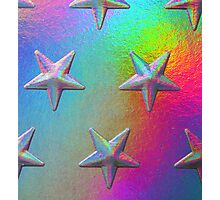 PSYCHEDELIC STARS. Photographic Print