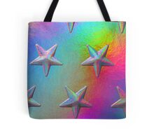 PSYCHEDELIC STARS. Tote Bag