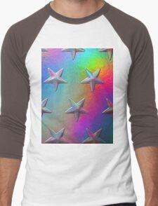 PSYCHEDELIC STARS. Men's Baseball ¾ T-Shirt