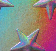 PSYCHEDELIC STARS. Sticker