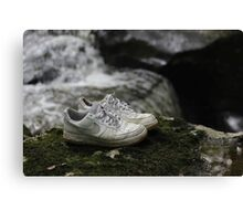 pbbyc - Nikes Off My Feet Canvas Print