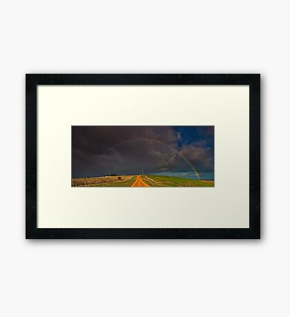 """Passage Through A Promise"" Framed Print"